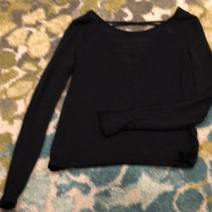 Thinking sleeves sweater